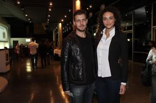 Débora Nascimento e o namorado, Arthur (Foto: Thyago Andrade/Phto Rio News)