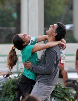 Eduardo Moscovis e Cynthia Howlett (Foto: André Freitas/ Ag. News)