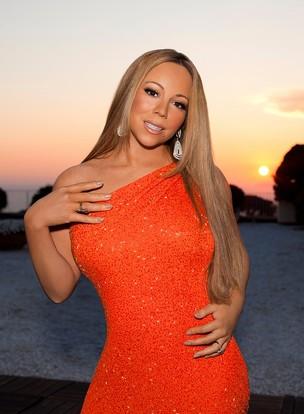 Mariah Carey no American Idol (Foto: Divulgação)