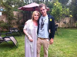 Kathy Hilton e Conrad Hilton (Foto: Reprodução/ Twitter)