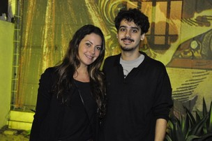 Fabíula Nascimento e George Sauma (Foto: Roberto Teixeira / EGO)