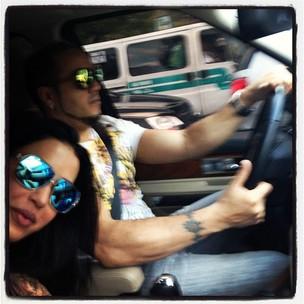 Gracyanne posta foto com Belo (Foto: Instagram / Reprodução)