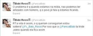 Twitter de Babi Rossi (Foto: Reprodução)