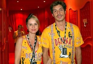 Paula Burlamaqui e Daniel Alvim (Foto: Cleomir Tavares/Divulgação)