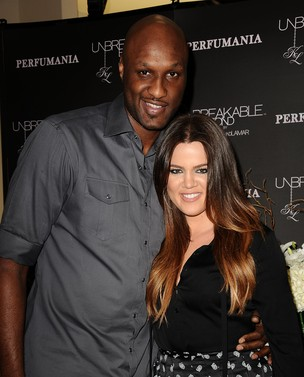 Khloe Kardashian e Lamar Odom (Foto: Getty Images)
