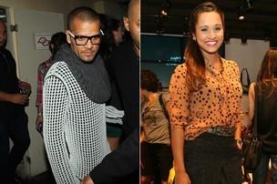 Daniel Alves e Taissa Carvalho (Foto: Manuela Scarpa/Fotorio News e Andre Muzell/AgNews)