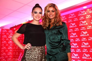 Isabelle Drummond e Sophie Charlotte no Hair Fashion Show (Foto: Iwi Onodera/ EGO)