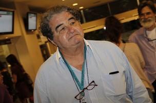 Otávio Augusto em pré-estreia de filme no Rio (Foto: Isac Luz/ EGO)