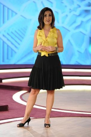 Fátima Bernardes (Foto: TV Globo / Estevam Avellar)