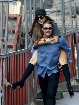 Lady Gaga e Taylor Kinney  (Foto: Sunshine /The Grosby Group)