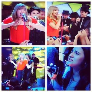 Taylor Swift no Tv Xuxa (Foto: Instagram/Reprodução)