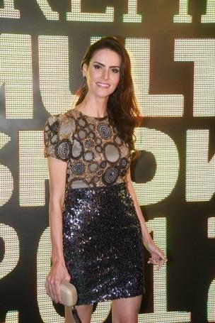 Lisandra Souto no Prêmio Multishow de Música, no Rio (Foto: Foto Rio News)