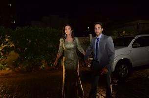 Ivete Sangalo e Daniel Cady no casamento de Solange e Wagner (Foto: Saulo Brandão / EGO)