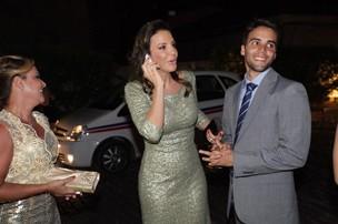 Ivete Sangalo e Daniel Cady no casamento de Solange e Wagner (Foto: Josefa Coimbra / Divulgação)