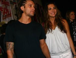 Álvaro Jacomossi e Camila Lamoglia (Foto: Iwi Onodera/EGO)