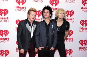Green Day no iHeartRadio Music Festival (Foto: Getty Images / Agência)