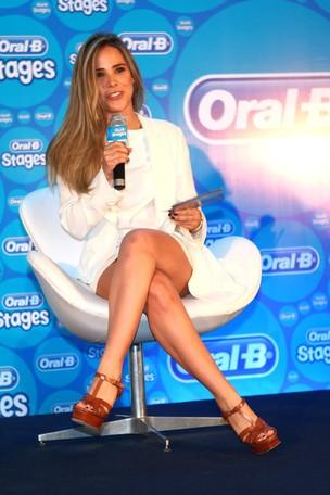 Wanessa no evento da Oral B (Foto: Iwi Onodera / EGO)