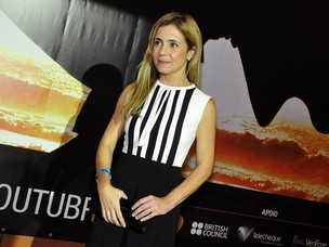 Adriana Esteves no Festival do Rio (Foto: Roberto Teixeira / EGO)