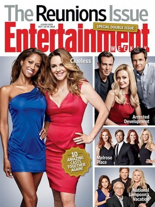 Patricinhas na capa da revista 'Entertainment Weekly' (Foto: Divulgação / Revista Entertainment Weekly)