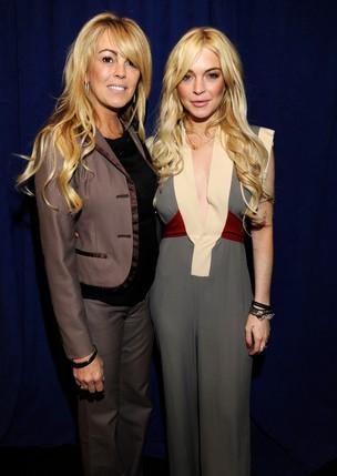 Dina e Lindsay Lohan (Foto: Getty Images)