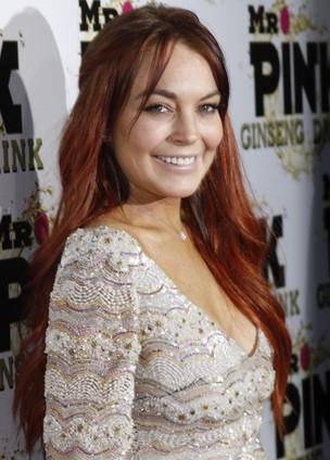 Lindsay Lohan em evento em Los Angeles, no EUA (Foto: Jonathan Alcorn/ Reuters/ Agência)