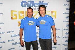 Malvino Salvador e Gabriel Braga Nunes (Foto: Manuela Scarpa / Foto Rio News)
