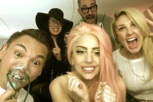 Na Colômbia, Lady Gaga comemora vitória de Obama (Foto: Twitter/ Reprodução)