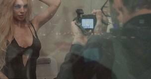 Lindsay Lohan estrela vídeo de James Franco (Foto: Reprodução)