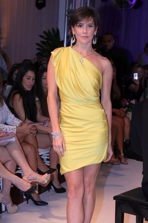 Deborah Secco em evento de loja de jóias (Foto: Alex Palarea / AgNews)