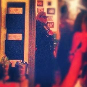 Madonna em restaurante na Zona Sul do Rio (Foto: Instagram/ Reprodução)