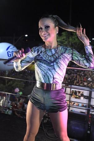 Claudia Leitte se apresenta no Carnatal (Foto: Fred Pontes/Divulgação)