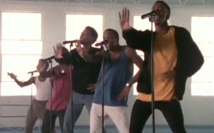 Clipe de 'If It Isn't Love', da banda New Edition (Foto: YouTube / Reprodução)