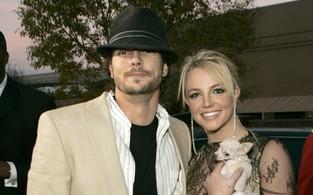 Britney Spears e Kevin Federline (Foto: Agência/ Getty Images)