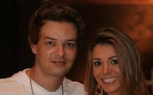 A BBB Fabiana e o marido, Roby (Foto: Divulgação)