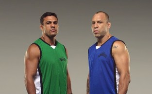 Vitor Belfort e Wanderlei Silva no TUF – The Ultimate Fighter (Foto: André Schiliró / TV Globo )