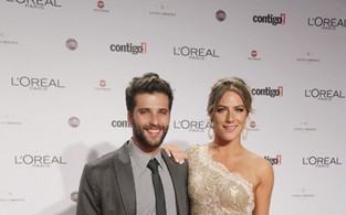 Bruno Gagliasso e Giovanna Ewbank no Pr&#234;mio Contigo (Foto: Isac luz / EGO)