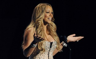 Mariah Carey no BET Awards, em Los Angeles, nos Estados Unidos (Foto: Reuters/ Agência)