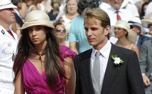 Tatiana Santo Domingo e pr&#237;ncipe Andrea Casiraghi (Foto: Ag&#234;ncia AFP)