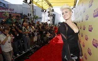 Miley Cyrus no VMA (Foto: Reuters)