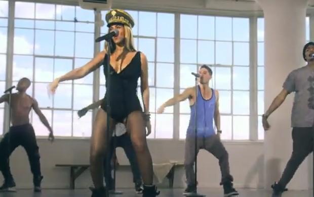 Clipe de 'Love on Top', de Beyoncé (Foto: YouTube / Reprodução)
