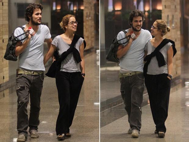 Paloma Duarte e Bruno Ferrari 2 (Foto: Ag.News/ Marcus Pavão)