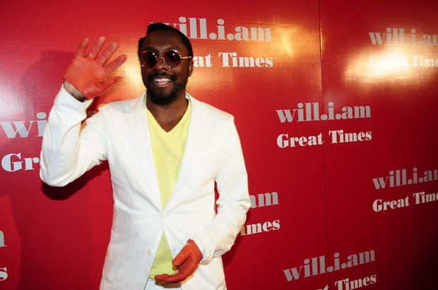 """Will.I.am, do Black Eyed Peas, lança o single """"Great Times"""" em São Paulo (Foto: Francisco Cepeda/ Ag.News)"""