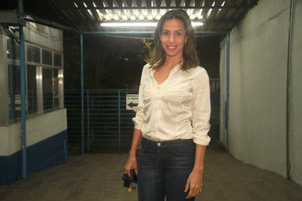 Tania Khalill em festa de 'Fina estampa' no Rio (Foto: Raphael Mesquita/ Photo Rio News)