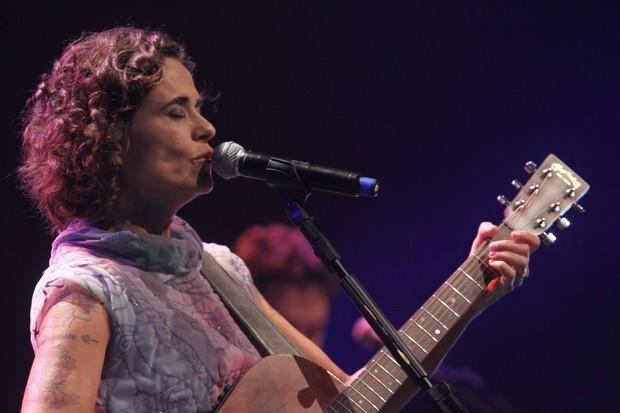 Zélia Duncan faz show no Rio (Foto: André Muzel/ AG News)