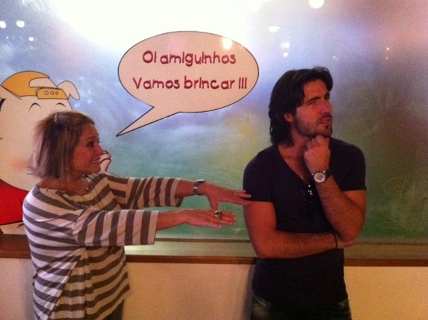 Susana Vieira e Sandro Pedroso (Foto: Divulgação/Divulgação)