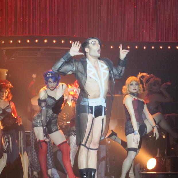 """Apresentação de """"Cabaret"""" (Foto: EGO)"""