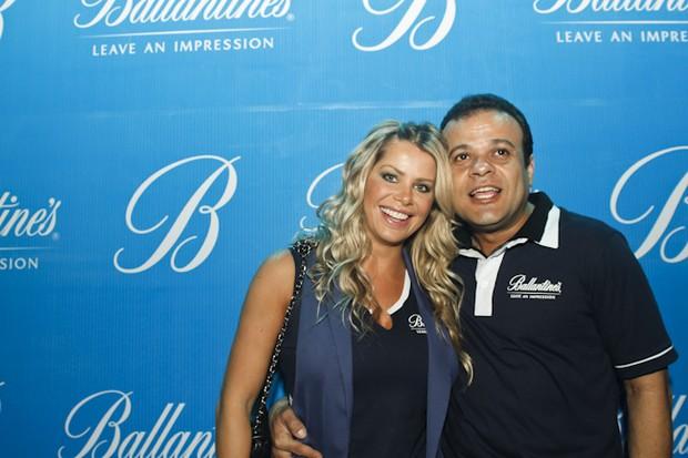 Karina Bacchi e o ex-BBB Daniel (Foto: Andrea Rego Barros / Divulgação)