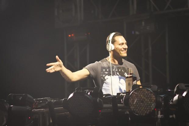 DJ Tiësto (Foto: Andrea Rego Barros / Divulgação)