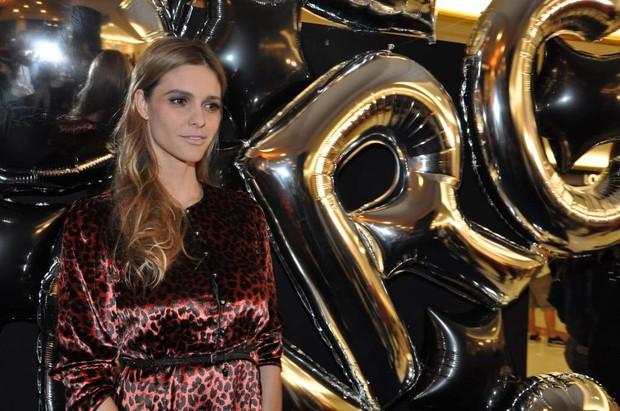 Fernanda Lima na inauguração de uma loja em São Paulo (Foto: Tiago Archanjo/ Ag. News)