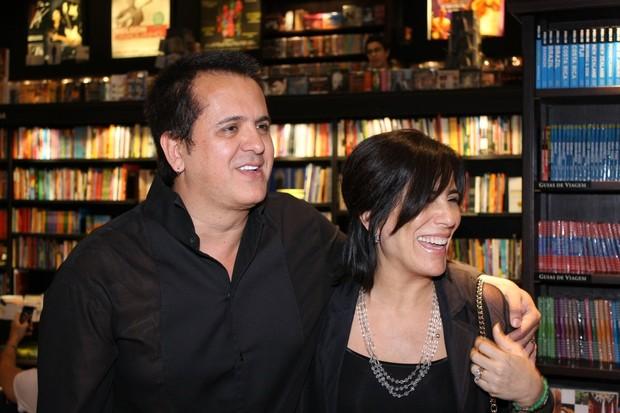 Orlando Moraes e Glória Pires (Foto: Henrique Oliveira / Photo Rio News)